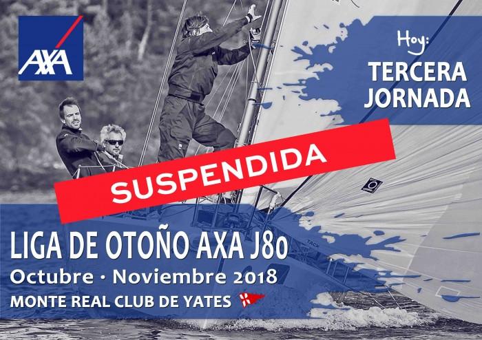 Suspendida la tercera jornada de la Liga de Otoño AXA J80