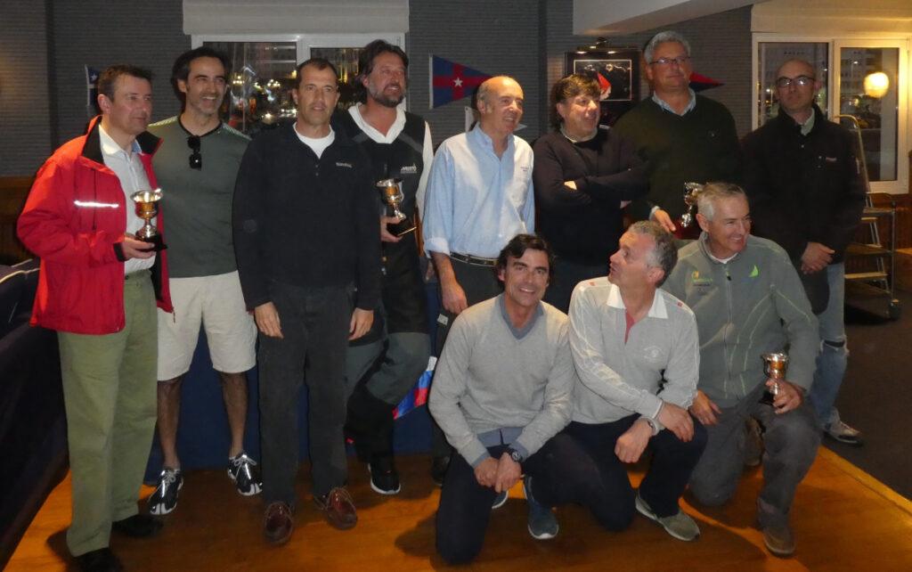Terminan los trofeos Jaguar de J80 en el RCMS