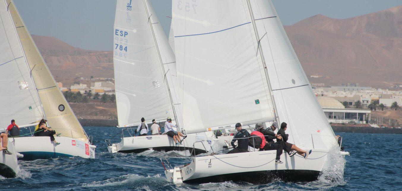 El RCN Arrecife acoge la XII Copa SAR Princesa Alexía Campeonato de Canarias de J80