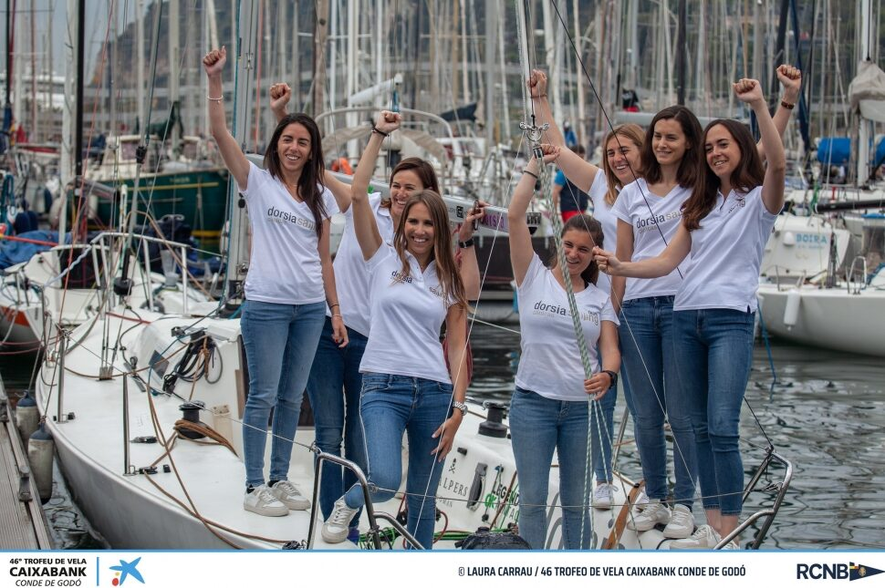 27 de mayo de 2019  La vela femenina destaca en la flota de J80 del Trofeo de vela CaixaBank Conde de Godó