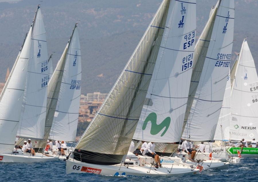 La clase Herbalife J80 regresa a la 38 Copa del Rey MAPFRE con una flota de élite mundial