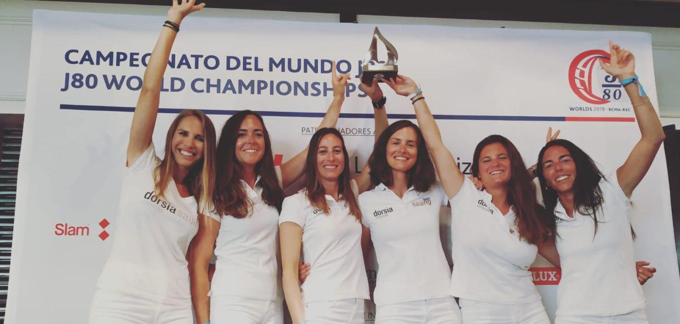 Dorsia Sailing Team de Marina Burriananova, representante español de J80, se lleva el subcampeonato del mundo a casa de J80 en su categoría