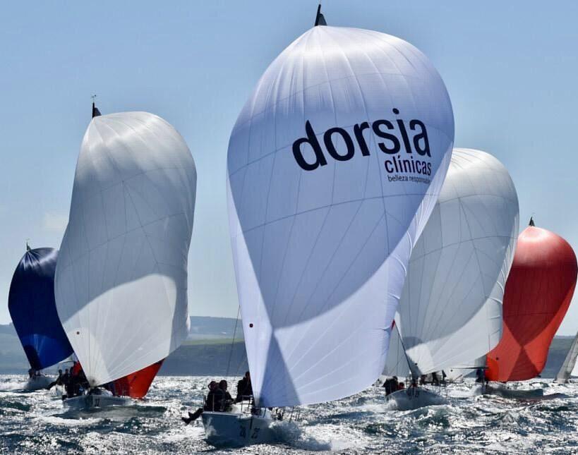 Dorsia Sailing Team ya preparado para su participación en el Campeonato del Mundo de J80