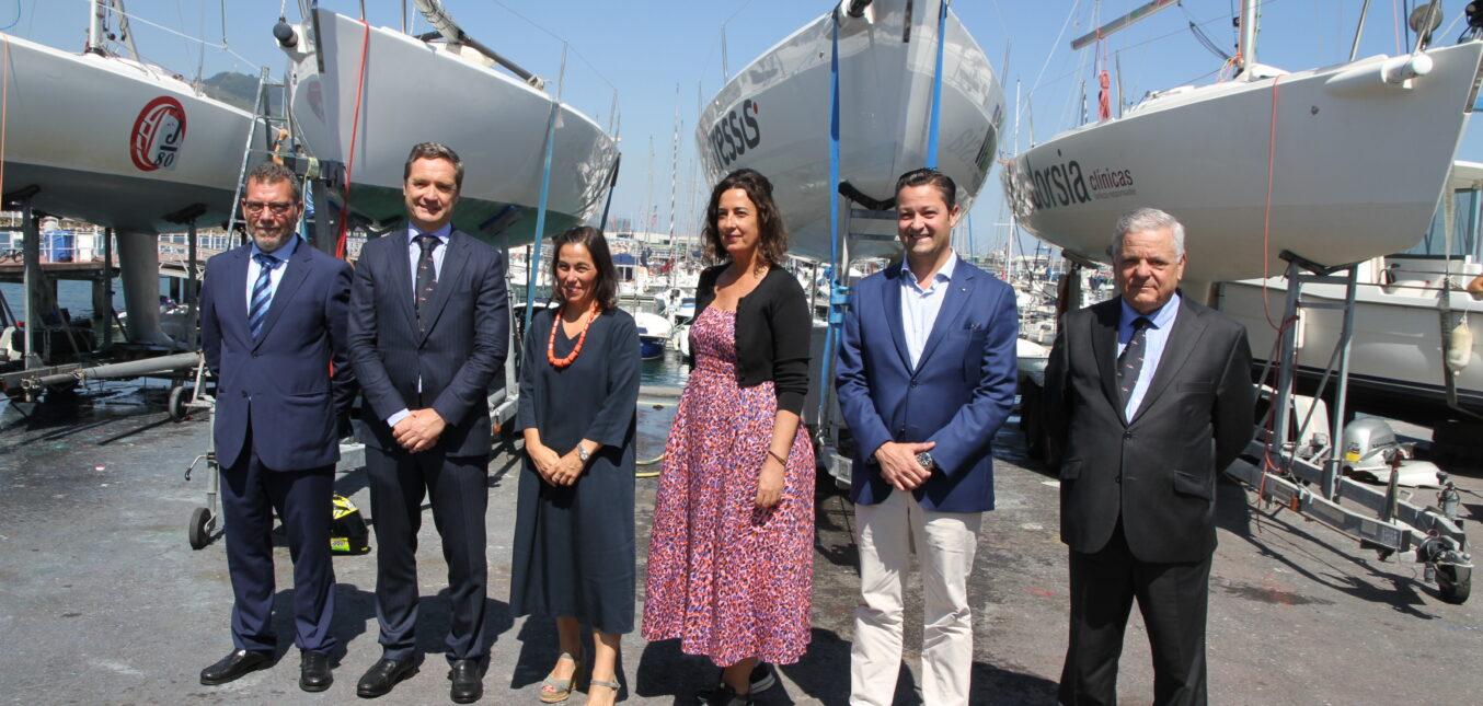 Casi 100 barcos en el Mundial J80 de Getxo