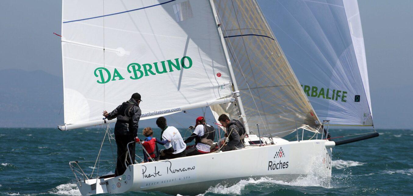 El J/80 'Da Bruno Mary's Meal' busca levantar la Copa de Sotogrande