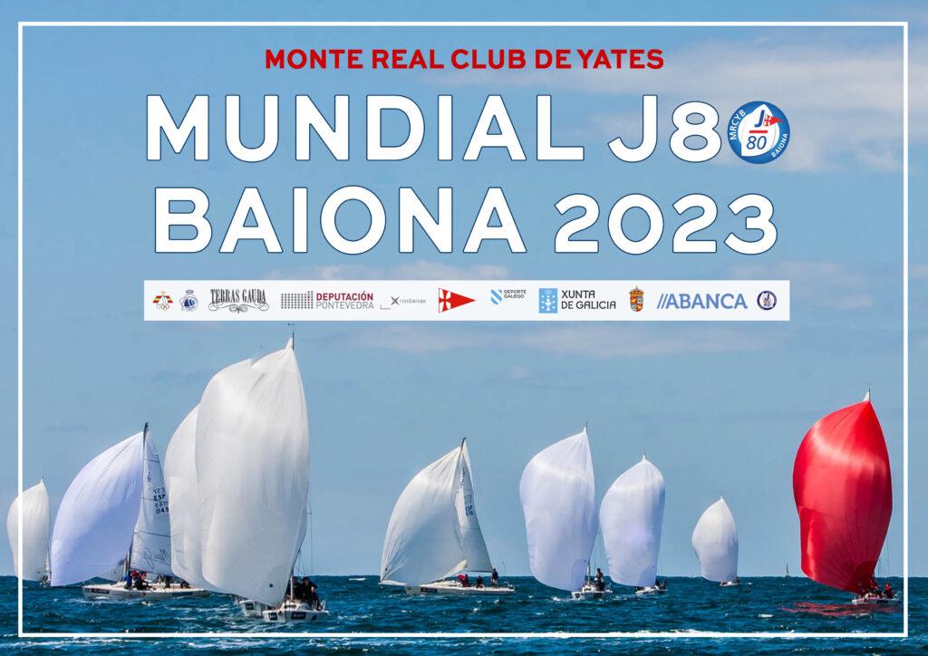 Baiona será sede del Mundial de la clase J80 de vela en 2023