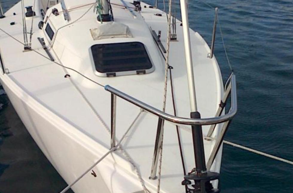 Modelo y cticas. del barco. Año 2000
