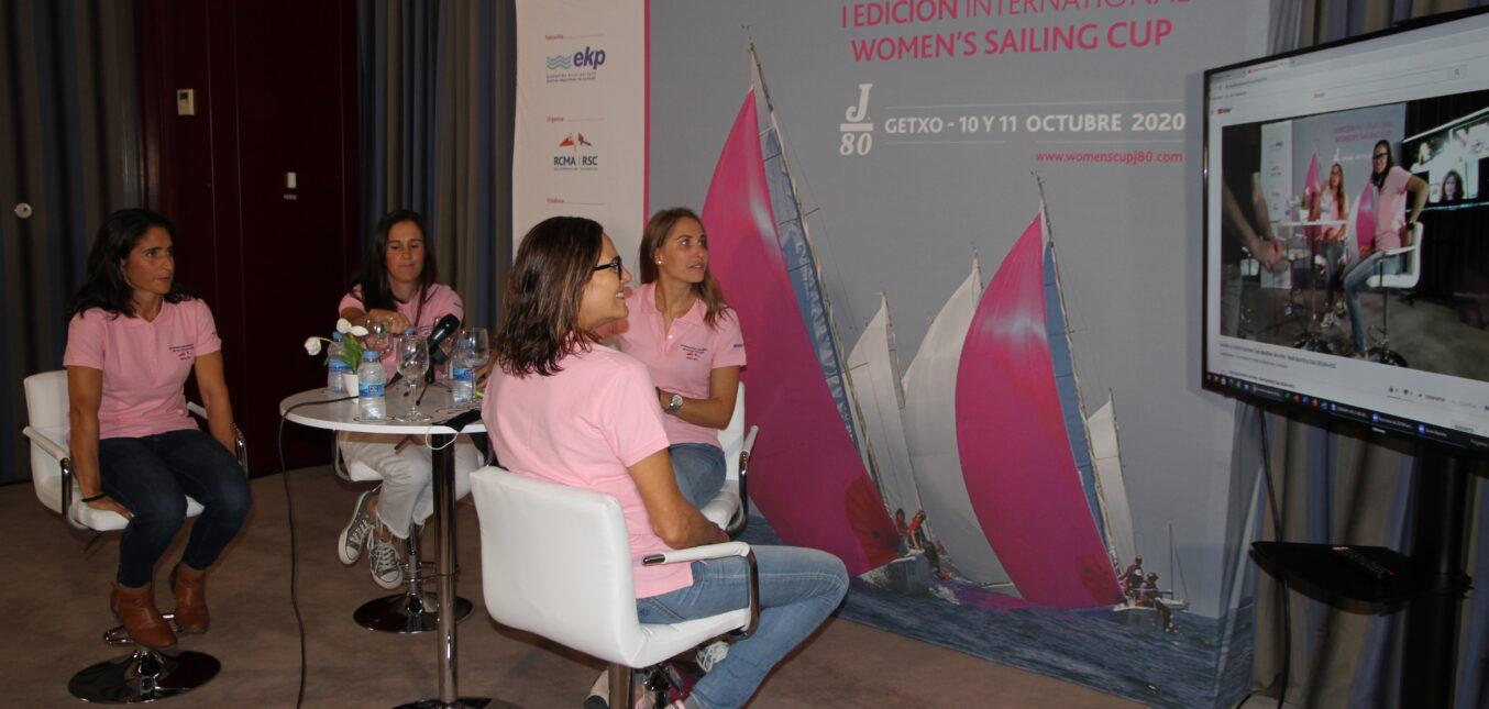 Coloquio 'La Mujer en la Vela' con el apoyo de J80 España
