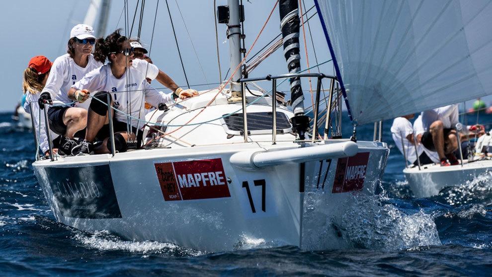 El J80 embarcación femenina 39º Copa del Rey