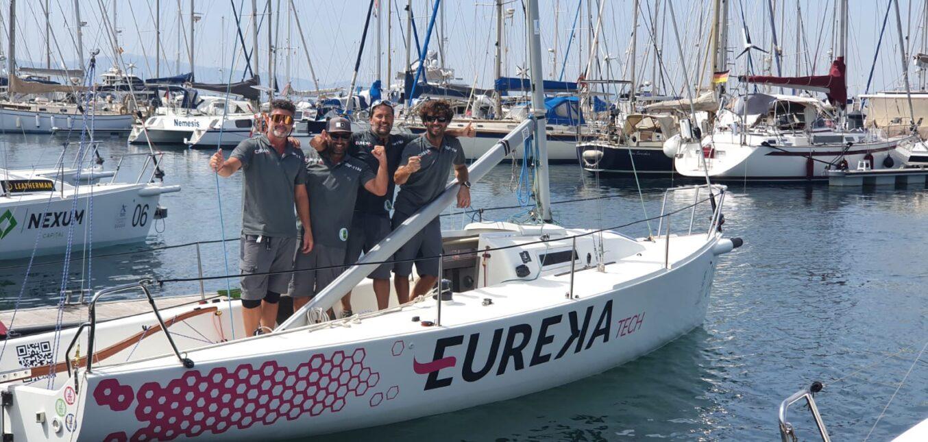El 'Eureka Tech' se alza campeón de Andalucía de J/80 en La Línea