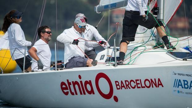 «Etnia Barcelona» ganó el 36º Trofeo Príncipe de Asturias en la Clase J80