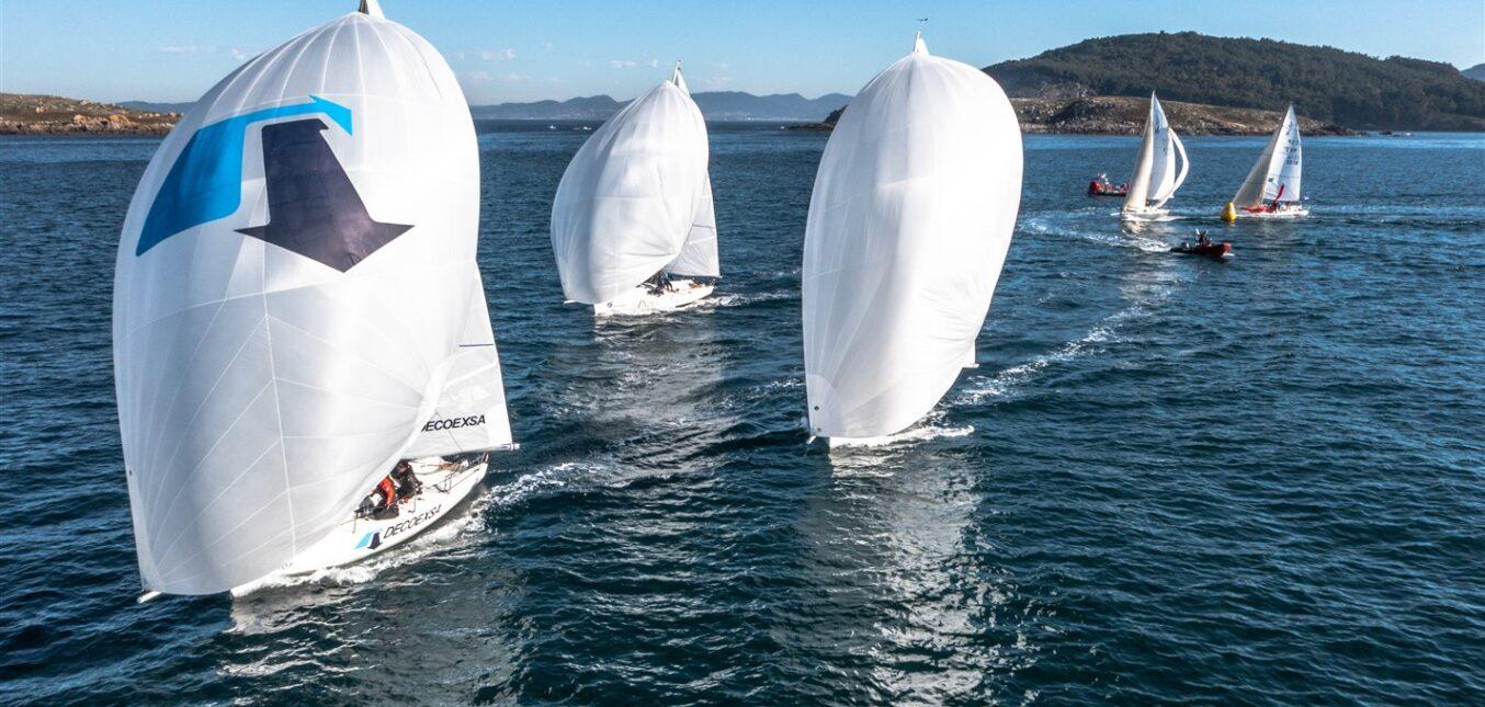 Decoexa se llevó la victoria en la última regata de la liga femenina